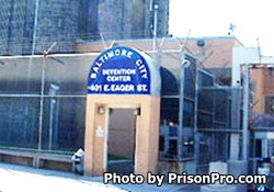Baltimore City Detention Center Maryland