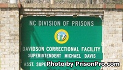 Davidson Correctional Center North Carolina