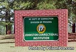 Johnston Correctional Institution North Carolina