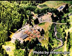 South Fork Forest Camp Oregon
