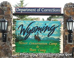 Wyoming Honor Conservation Camp and Boot Camp